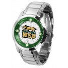 Wright State Raiders Titan Steel Watch