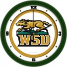 "Wright State Raiders Traditional 12"" Wall Clock"