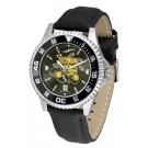 Wichita State Shockers Competitor AnoChrome Men's Watch with Nylon/Leather Band and Colored Bezel