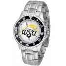 Wichita State Shockers Competitor Watch with a Metal Band