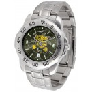 Wichita State Shockers Sport Steel Band Ano-Chrome Men's Watch