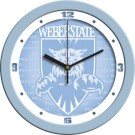 "Weber State Wildcats 12"" Blue Wall Clock"