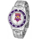 Weber State Wildcats Competitor Men's Watch with Steel Band