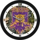 "Weber State Wildcats 12"" Camo Wall Clock"