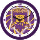 "Weber State Wildcats 12"" Dimension Wall Clock"