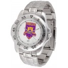 Weber State Wildcats Sport Steel Band Men's Watch