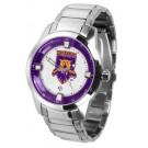 Weber State Wildcats Titan Steel Watch