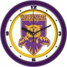 "Weber State Wildcats Traditional 12"" Wall Clock"