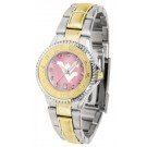West Virginia Mountaineers Competitor Ladies Watch with Mother of Pearl Dial and Two-Tone... by