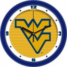 "West Virginia Mountaineers 12"" Dimension Wall Clock"
