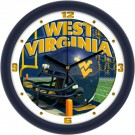 "West Virginia Mountaineers 12"" Helmet Wall Clock"