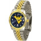 West Virginia Mountaineers Executive AnoChrome Men's Watch by