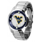 West Virginia Mountaineers Titan Steel Watch