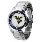 West Virginia Mountaineers Titan Steel Watch by