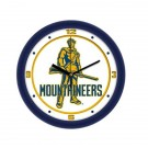 "West Virginia Mountaineers Traditional 12"" Wall Clock"