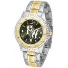 Wyoming Cowboys Competitor AnoChrome Two Tone Watch by