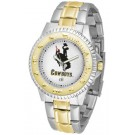 Wyoming Cowboys Competitor Two Tone Watch by