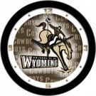 "Wyoming Cowboys 12"" Dimension Wall Clock"