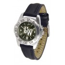 Wyoming Cowboys Sport AnoChrome Ladies Watch with Leather Band