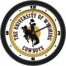 "Wyoming Cowboys Traditional 12"" Wall Clock"