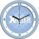 """Xavier Musketeers 12"""" Blue Wall Clock"""