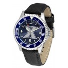 Xavier Musketeers Competitor AnoChrome Men's Watch with Nylon/Leather Band and Colored Bezel