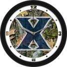 "Xavier Musketeers 12"" Camo Wall Clock"