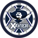 "Xavier Musketeers 12"" Dimension Wall Clock"