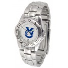 Xavier Musketeers Gameday Sport Ladies' Watch with a Metal Band