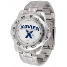 Xavier Musketeers Sport Steel Band Men's Watch