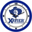 "Xavier Musketeers Traditional 12"" Wall Clock"