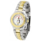 Youngstown State Penguins Competitor Ladies Watch with Two-Tone Band