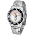 Youngstown State Penguins Competitor Men's Watch with Steel Band