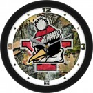 "Youngstown State Penguins 12"" Camo Wall Clock"