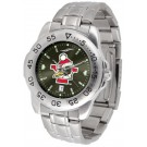 Youngstown State Penguins Sport Steel Band Ano-Chrome Men's Watch
