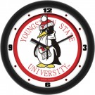 "Youngstown State Penguins Traditional 12"" Wall Clock"