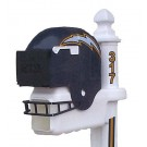 Sports Fan Pole for the Helmet Style Mailbox