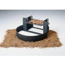 "7"" High Fire Ring and Grill with Adjustable Grate (300 Square Cooking Inches)"
