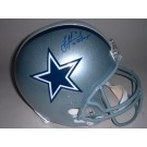 "Troy Aikman Autographed Dallas Cowboys Full Size Replica Helmet with ""3x SB Champs"" Inscription"