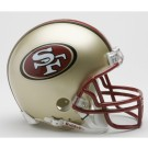 San Francisco 49ers 1996-2008 NFL Riddell Replica Throwback Mini Football Helmet