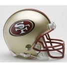 San Francisco 49ers 1996-2008 NFL Riddell Replica Throwback Mini Football Helmet