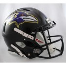 Baltimore Ravens NFL Authentic Speed Revolution Full Size Helmet from Riddell