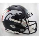 Denver Broncos NFL Authentic Speed Revolution Full Size Helmet from Riddell