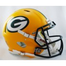 Green Bay Packers NFL Authentic Speed Revolution Full Size Helmet from Riddell