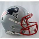 New England Patriots NFL Authentic Speed Revolution Full Size Helmet from Riddell by