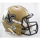 New Orleans Saints NFL Authentic Speed Revolution Full Size Helmet from Riddell