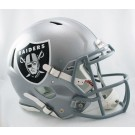 Oakland Raiders NFL Authentic Speed Revolution Full Size Helmet from Riddell