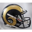 St. Louis Rams NFL Authentic Speed Revolution Full Size Helmet from Riddell by
