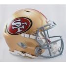 San Francisco 49ers NFL Authentic Speed Revolution Full Size Helmet from Riddell
