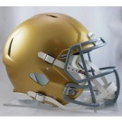 Notre Dame Fighting Irish NCAA Authentic Speed Revolution Full Size Football Helmet from... by